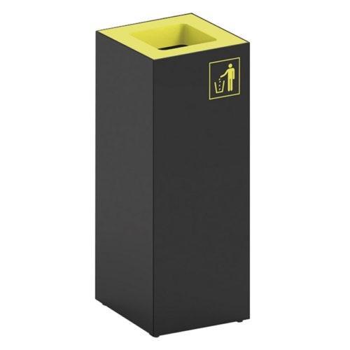 """Papeleiras """"cubic"""" p/reciclagem 40L"""