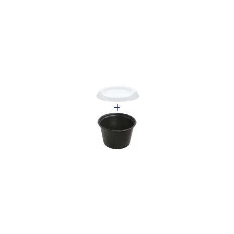 Molheiro preto 100 ml