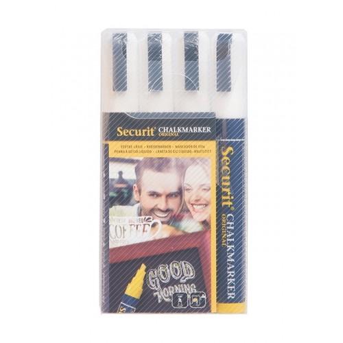 Pack de 4 Marcadores Brancos 2-6mm