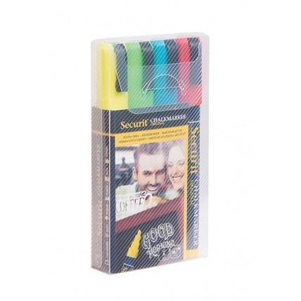 Pack de 4 Marcadores Coloridos 2-6mm Mais Hotel