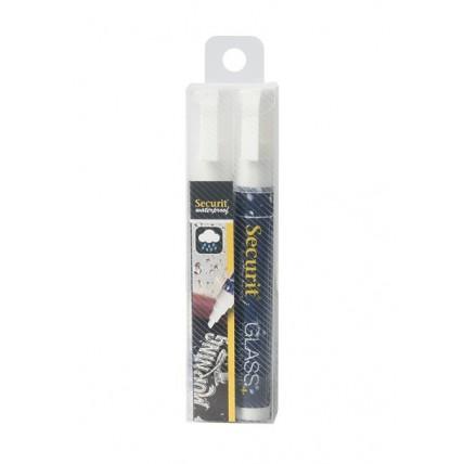 Marcadores brancos à prova de água 2-6mm