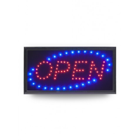 "Sinal LED ""OPEN"""