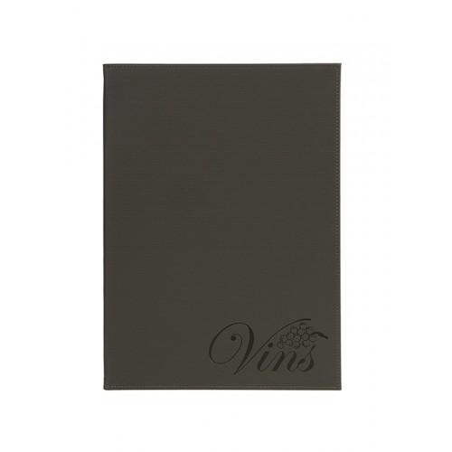 "Porta Menus Velvet A4 ""Vins"""