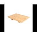 Base de Sushi 20.5x15x3cm Natural Bambú