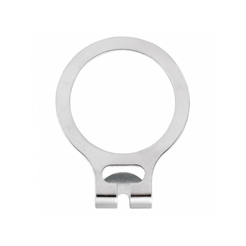 Anéis cabide Arroubo Ø 4,8cm  Prateado Metal (50 UNID.)