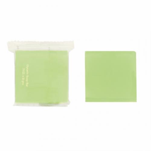 Sabonetes 20G 4x4cm Verde Glicerina (500 UNID.)