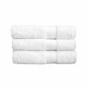 Toalhas de mãos 500 G/M2 50x100 CM Branco Algodão (48 UNID.)
