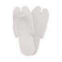 """Chinelos """"EVA"""" Brancos Plástico (200 UNID.)"""