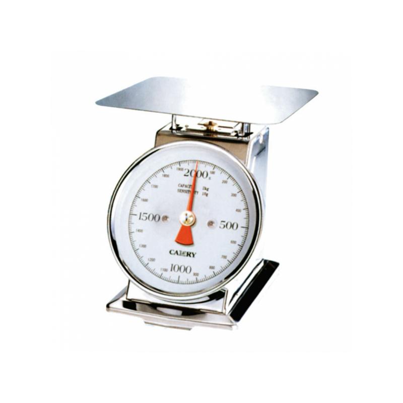 Balança Mecânica 4KG Prateada Inox