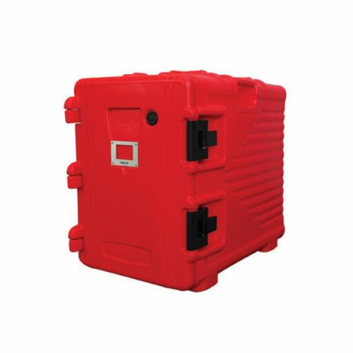 Armário Isotérnico 90L Vermelho Plástico