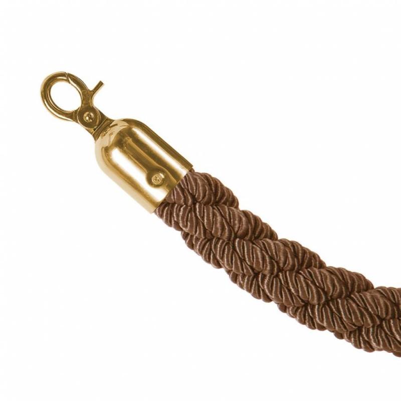 Cordas para Poste separadores de Douradas e Prateadas