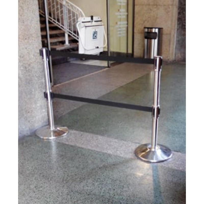 Poste Separador com duas cintas