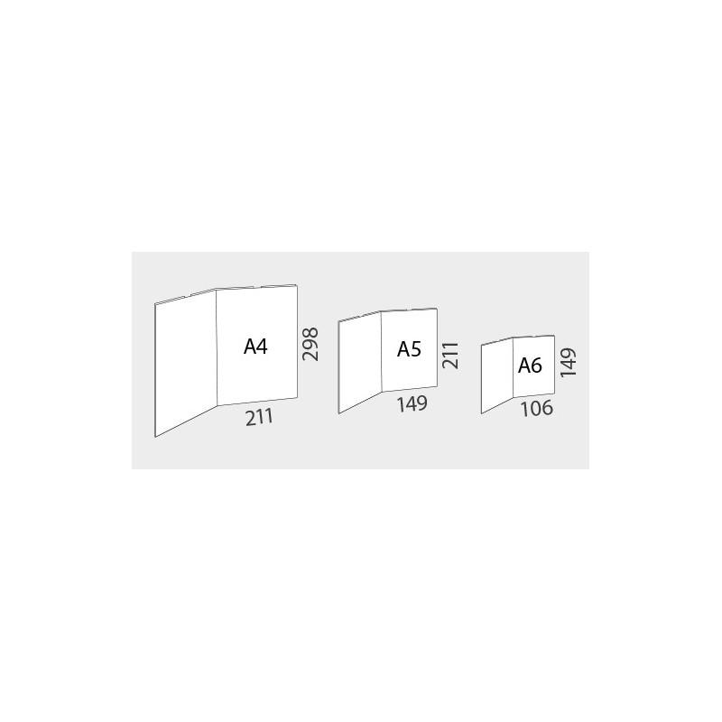 Porta folhetos DUO Acrílico A4 x 2