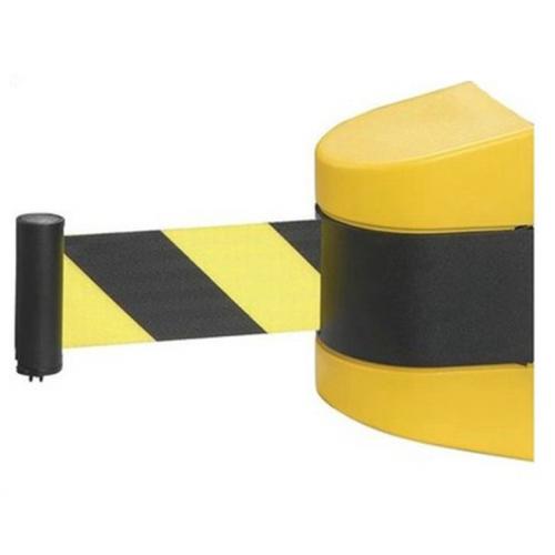 barreira com cinta rectractil
