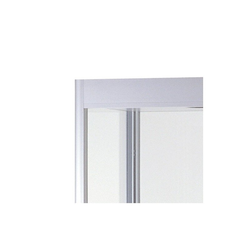 Vitrine de vidro iluminada 1000mmx400mm