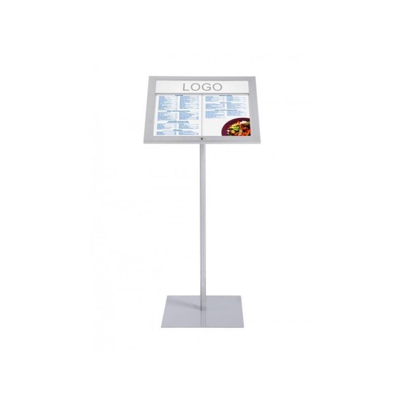 Expositor Menus com Pé LED