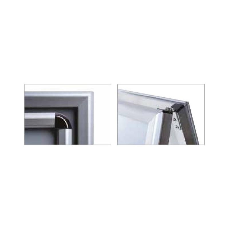Cavalete perfil de 32 mm| esquinas de segurança