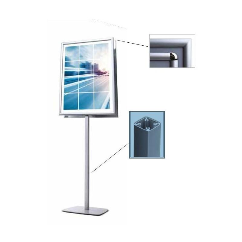 Info Pole| dupla face