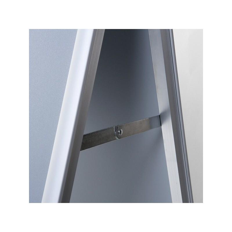 Cavalete interior perfil de 25 mm  esquinas redondas