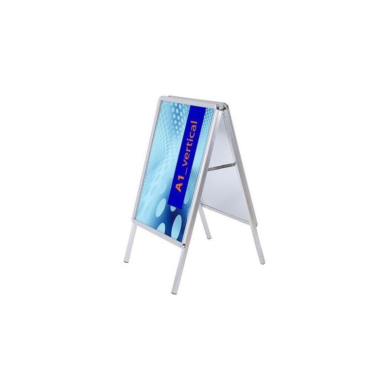 Cavalete resistente a agua perfil de 32 mm| esquinas redondas, exterior