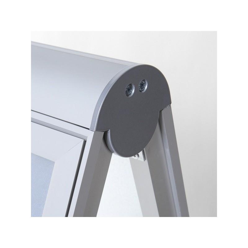 Cavalete COMPASSO| Parede traseira de metal