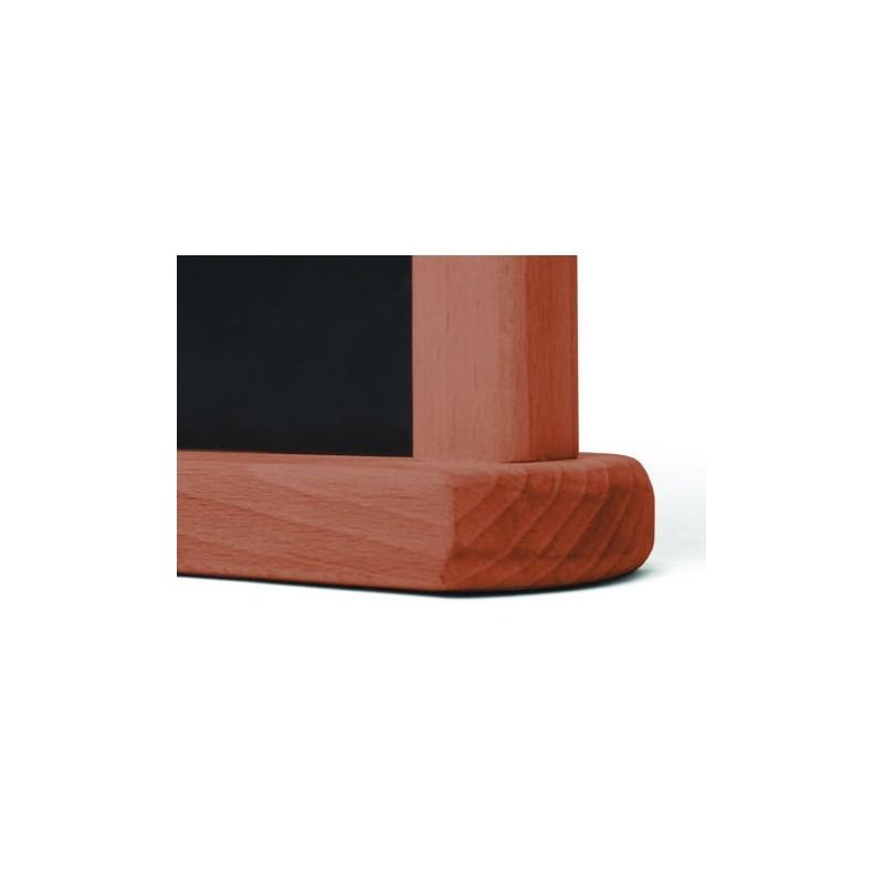 JD NATURA Cavalete de mesa| alta qualidade de madeira envernizada Castanho