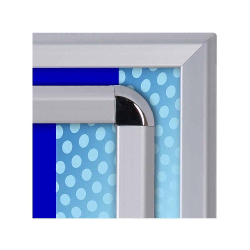 Cavalete perfil de 32 mm| esquinas em meia-esquadria
