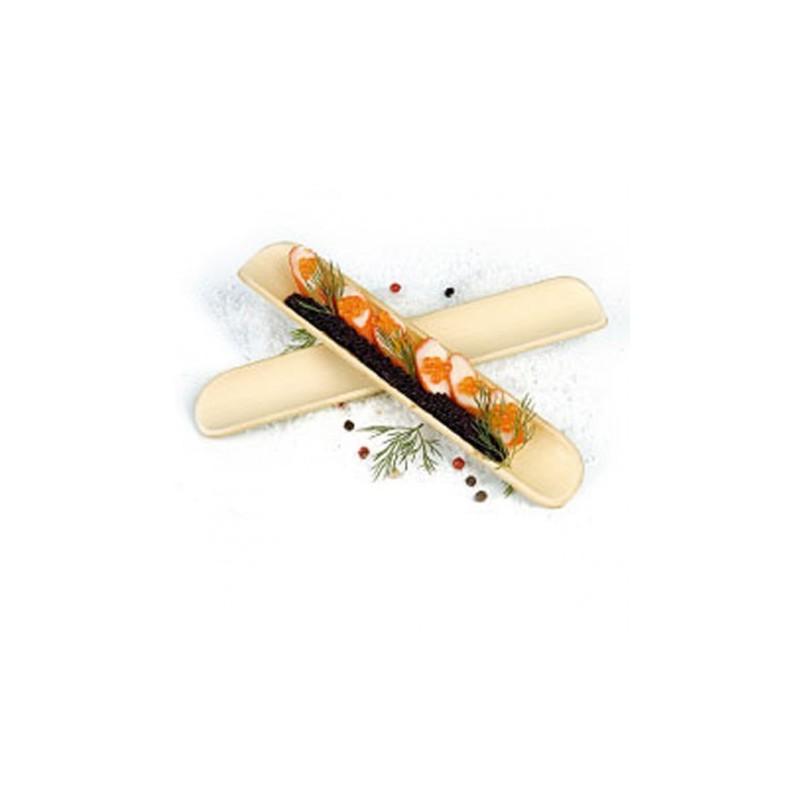 200unid. 1/2 Bambú Kendo, Mini Dish