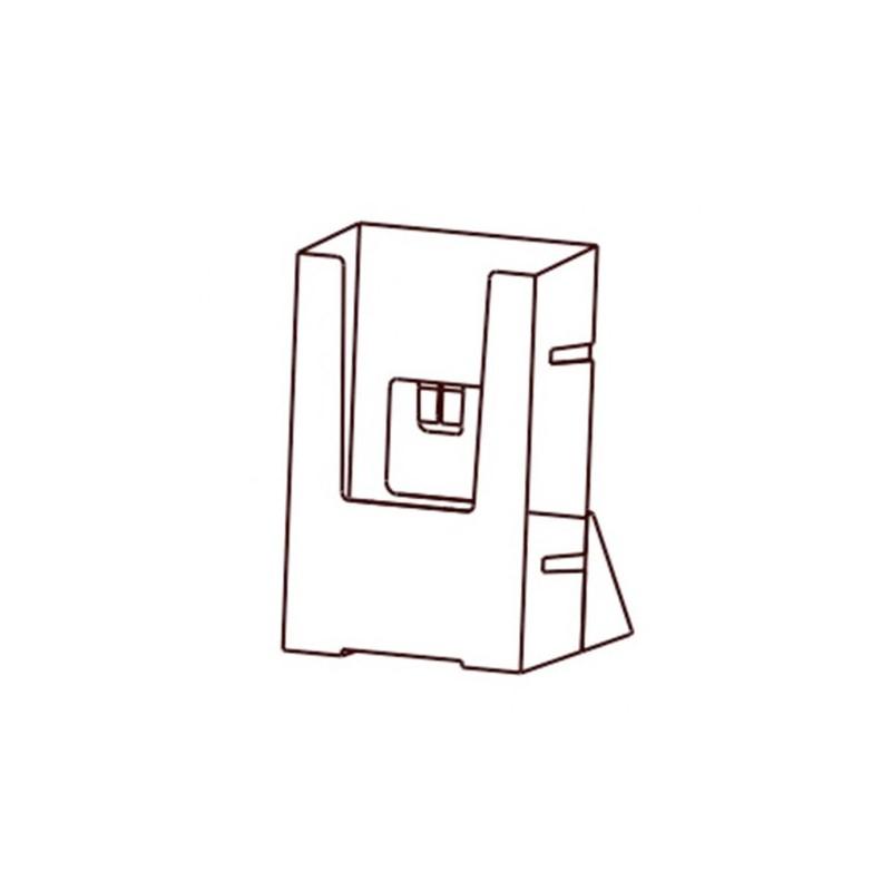 12unid. Porta Folhetos 1/3 Din A/3