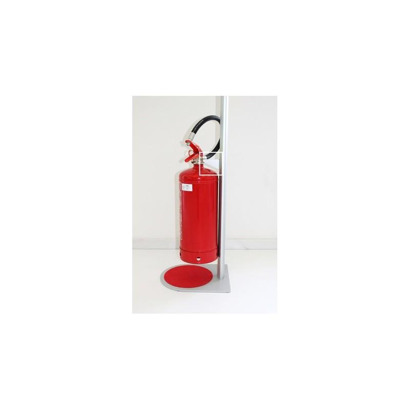 Sinalização móvel para extintores