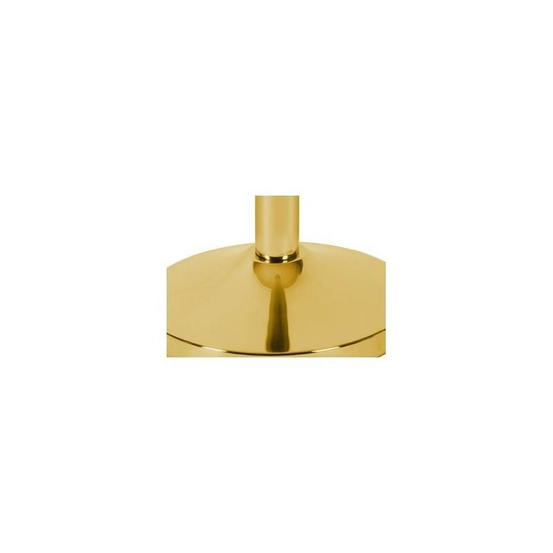 Poste de cordão dourado  dourado polido