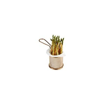 cestas de aço inoxidável para serviço de mesa